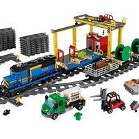 レゴ 60052 シティ カーゴトレイン 互換品