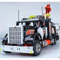 レゴ 8285 互換品 テクニック トゥートラックレッカー車