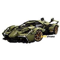 レゴ 互換品 ランボルギーニ V型12気筒エンジン搭載イメージ デザイン V12 スポーツカー スーパーカー テクニック 互換 ブロック プレゼント クリスマス おもちゃ ブロック 知育玩具
