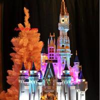 レゴ 互換品 プリンセスシンデレラ城 本体 イルミネーションライトセット LED ディズニー プレゼント クリスマス 知育玩具 学習玩具 おもちゃ ブロック 入学 お祝い こどもの日 男の子 女の子