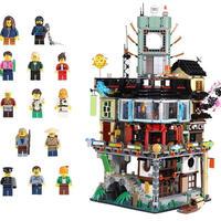 レゴ 互換品 70620 ニンジャゴーシティ 4932ピース