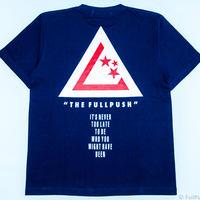 "Full Push  "" Union Vow T-shirt "" Navy Body."
