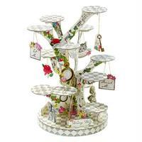 「トーキングテーブル」アリスシリーズ ツリー型ケーキスタンド