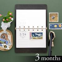 日めくり横リフィル mini6[3ヶ月分]
