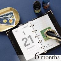 卓上日記リフィル micro5 [半年分]