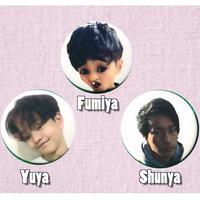 缶バッチ3個セット [Fumiya Yuya Shunya]※Limited sale Japan only