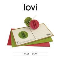 【ポストカード】 lovi(ロヴィ) ボール 6cm