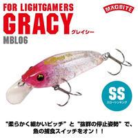【ルアー】 マグバイト グレイシー スローシンキング