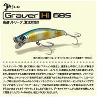 【ルアー】 邪道 グラバー ハイスピード 68S 一般カラー