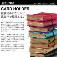 【カードホルダー】 ハイタイド パヴォ DF074