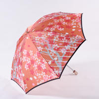 桜/桃 Cherry Blossoms/Pink 晴雨兼用折畳み傘