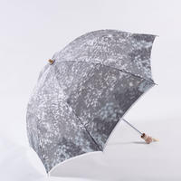 樹海/薄墨 JUKAI/Gray 折畳み日傘