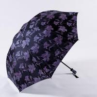 透彩/黒  Tosai/Black  晴雨兼用折畳み傘