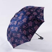 透彩/青  Tosai/Blue  晴雨兼用折畳み傘