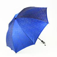 ペイズリー/青  Paisley/Blue 晴雨兼用折り畳み傘 ◆マスクケース付◆
