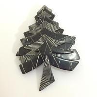LEA STEIN リア・スタン クリスマスツリーのブローチ(BR0202)