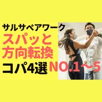 サルサベアワーク スパッと方向転換コパ4選No.1 ~5