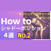 センシュアルバチャータペアワーク「HOW TO シャドーポジション」4選No.2