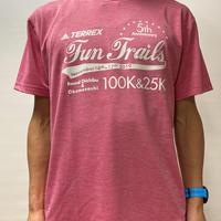 【ヘザーピンク】FTR100&25KオリジナルTシャツ