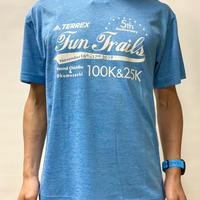 【ヘザーブルー】FTR100&25KオリジナルTシャツ