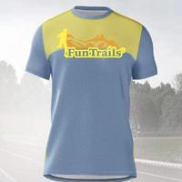 【adidas製:FunTrailsオリジナルTシャツ2018】 - メンズ 《送料無料》