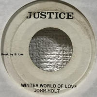 John Holt, The Aggrovators - Winter World Of Love [EP][Justice]