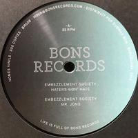 Embezzlement Society - Unfamiliar Dwellings EP [12][Bons Records]