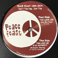 Tim Love Lee & DJ Sotofett - Moments Moving / Sow Mo Hope [12][Peace Feast]