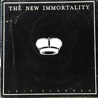 Leif Elggren - The New Immortality [EP][Anckarstrom] ⇨奇怪なサウンドアート作品を発信し続けるスウェーデン/アヴァン作家。