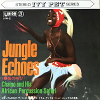 Chaino And His African Percussion Safari - Jungle Echoes [EP] ⇨キラーパーカッション!これはヤバイ!