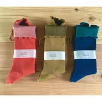 綿靴下  フォレスト/フリーサイズ