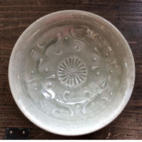 灰釉 5寸鉢/櫻井 薫