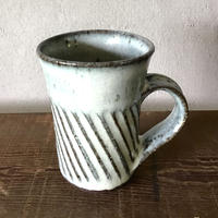 藁灰マグカップ /工房つちみ
