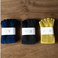 五本指 足の肌着  /綿と絹