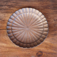 銅彩釉モール鉢 「作家 水野幸一」  (No.7)