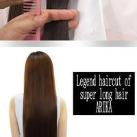Legend haircut of super long hair ARIKA【 Haircut 編  Haircut version 】