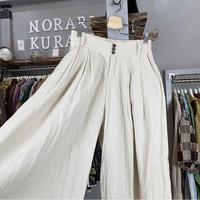 wide linen pants (523)