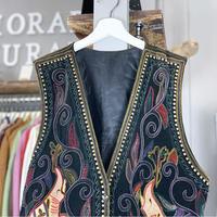 【sold out】design vest (630)