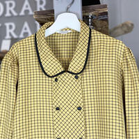 yellow check shirt (107)