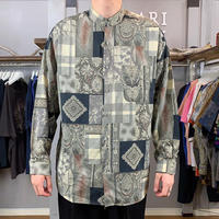 pattern shirt (763)