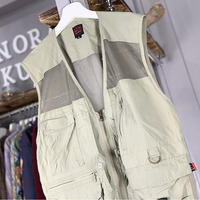 【sold out】fisherman vest (635)