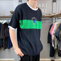 design knit T-shirt(718)