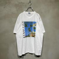 """SENSITIVE"" front design T-shirts"