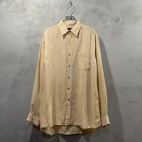 """●""""Linen"""" design L/S-shirts"""