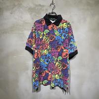 """Art"" patterned POLO-T-shirts"