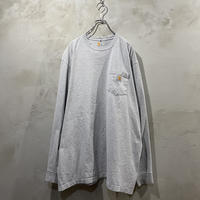 【Carhartt】One point logo L/S-T shirts