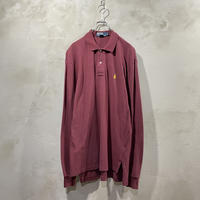 【POLO by Ralph Lauren】One point L/S-POLO-shirts