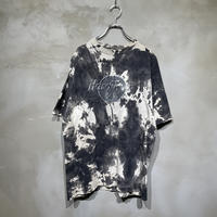 【Hard Rock】front design tie-dye T-shirts