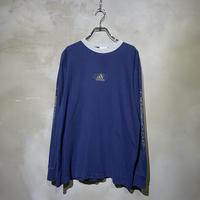 【adidas】 front logo L/S-T-shirts