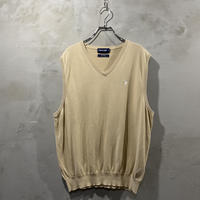 【POLO GOLF】 One point logo vest